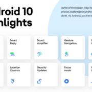 Découvrez si votre smartphone est compatible avec Android 10
