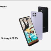 La gamme A de Samsung s'enrichit du Galaxy A22 4G et du Galaxy A22 5G